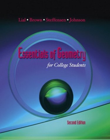Essentials of Geometry for College Students (2nd - Outlets Santa Barbara
