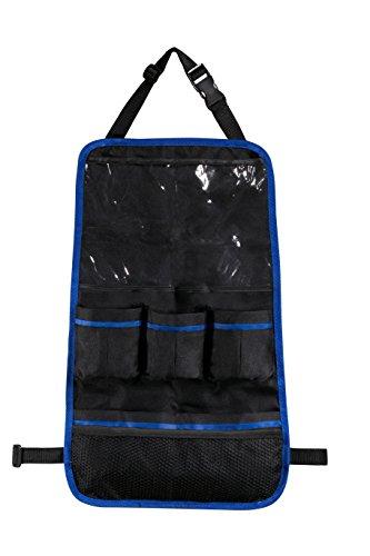 Car Seat Back Organizer - Large plastic top pocket holds...