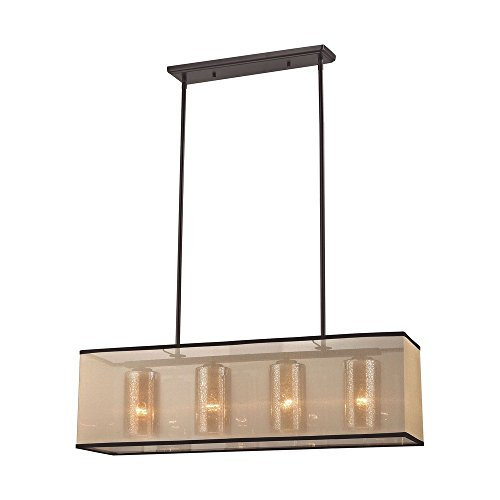 Elk Island Fixtures (Elk Lighting Diffusion 57028/4 Chandelier)