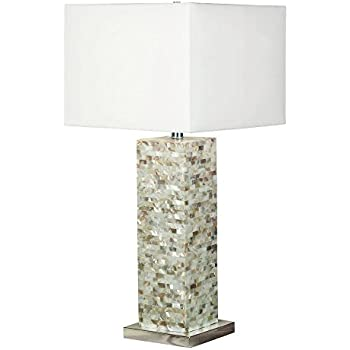 Kenroy home 32025mop pearl table lamp mother of pearl amazon kenroy home 32025mop pearl table lamp mother of pearl aloadofball Images