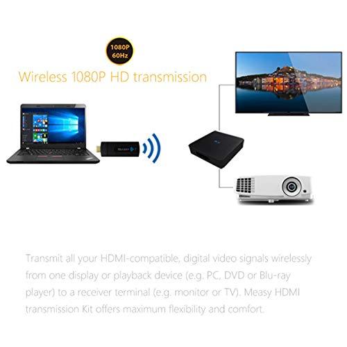 Measy HDMI 3D 1080P 60Ghz W2H-Mini Wireless Extender HD Vide