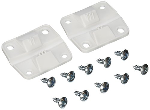 "Coleman Cooler Replacement Plastic Hinges and Screws Set 1 Made by Coleman. 2 hinges, 8 screws included. Packaged in Coleman branded bag. Coleman cooler plastic hinge set. Hinge size: 2"" H x 2.25"" W. Coleman part number 3000005298. Can be interchanged with previous part numbers 6262-1141, 5256-1851, and 5283-1141."