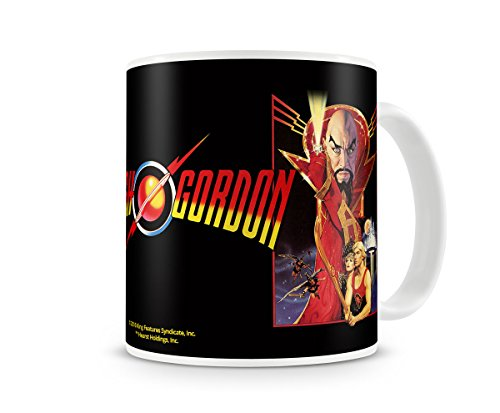 Officially Licensed Flash Gordon Vintage Poster Coffee Mug
