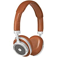 Master & Dynamic MW50S2 Wireless Bluetooth Headphones, Brown/Silver