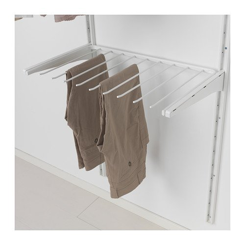 Protectores De Ropa Percha Para Pantalones 60 Cm Ikea Algot Blanco Hogar Y Cocina Gdc Merca20 Com