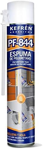 ESPUMA DE POLIURETANO AUTO-EXPANSIVA - KEFREN PF-844 - ENVASE 750 ML.
