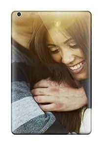 Sanp On Case Cover Protector For Ipad Mini/mini 2 (sweet Smiling Couple Loving Hug) by icecream design
