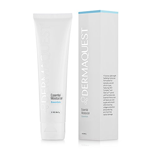 - DermaQuest Essential Lightweight Hydrating Moisturizer - Reduce Fine Lines and Fight Free Radical Damage, 2 oz