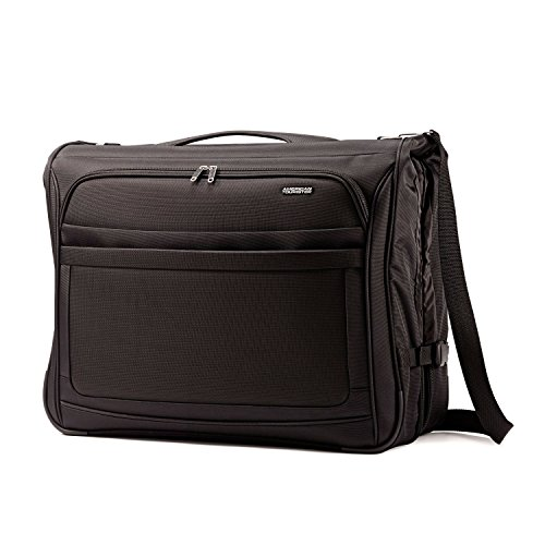 Garment Bag Valet (American Tourister Ilite Max Softside Ultra Valet Garment Bag, Black)