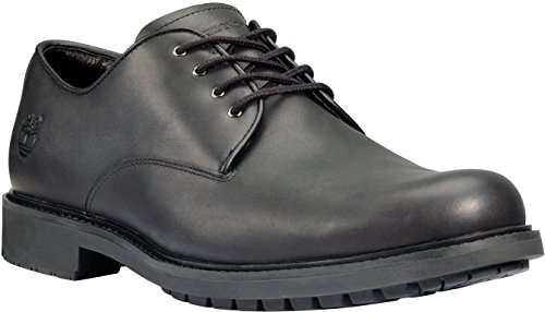 - Timberland Mens Earthkeepers Stormbuck Plain Toe Oxford,Black Smooth Full Grain Leather,US 9 M