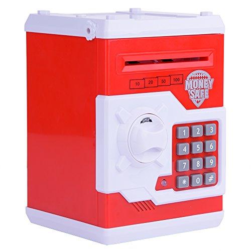 Greensen Code Electronic Piggy Bank Money Locker Mini ATM Automated Piggy Bank Money Box Stealing Coin Saving Money Box Best Gift For Kids -