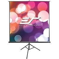 Elite Screens Tripod B, 71-inch, Multi Aspect Ratio Lightweight Portable Projection Manual Pull Up Projector Screen, T71SB