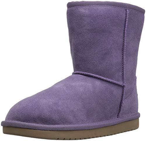 Koolaburra by UGG Unisex K KOOLA Short Fashion Boot, Montana Grape, 04 Medium US Big Kid (Ugg Short Boots Purple)