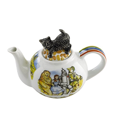 Paul Cardew Teapot - Cardew Design Wizard of Oz 2-Cup Teapot with ToTo Lid, 18-Ounce