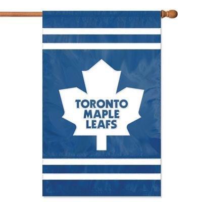 NHL 2-Sided Appliqué Banner Flag, Toronto Maple Leafs ()