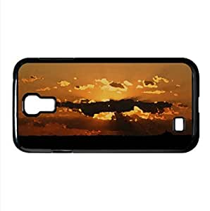 Sun In The Clouds Watercolor style Cover Samsung Galaxy S4 I9500 Case (Sun & Sky Watercolor style Cover Samsung Galaxy S4 I9500 Case)