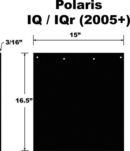Polaris Snow Flap IQ, IQR Chassis' 2005-2010 Snowmobile Part# 10-15020