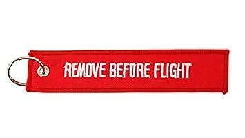 Remove before flight Llavero keychain Llavero memoria avión pilot aviación