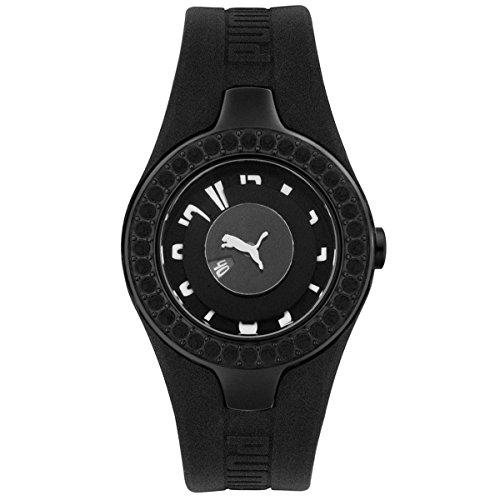 Puma Women's PU101122005 Active Collection Dynamic Posh Jeweled Watch
