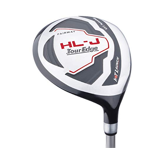 Tour Edge HL-J Junior Complete Golf Set with Bag (Right Hand, Graphite, 1 Putter, 3 Irons, 1 Hybrid, 1 Fairway, 1 Driver 9-12) Red by Tour Edge (Image #4)