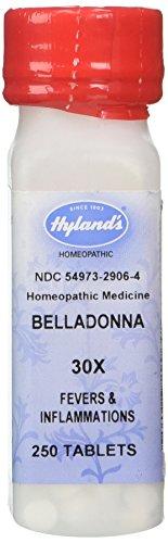 Hyland's Belladonna 30X Tabs, 250 ct