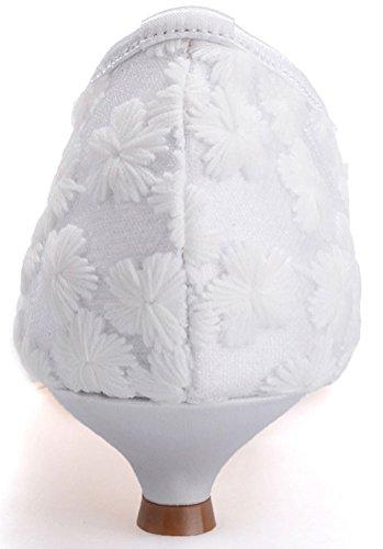 Blanc Bout Femme CFP 5 Ouvert 36 Blanc xp0wwISq