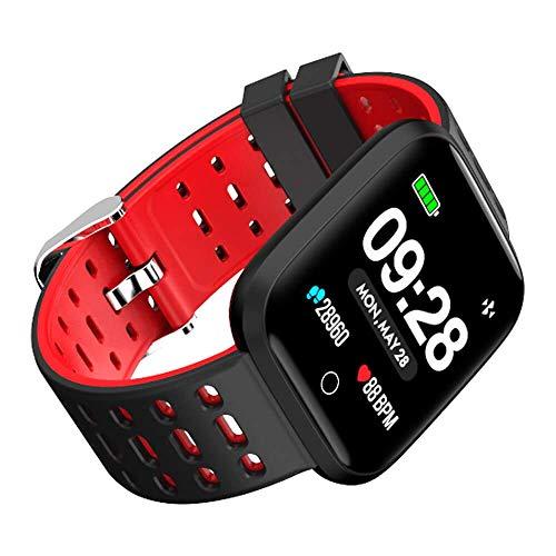 Azorex Smartwatch Reloj Inteligente Multifunción Deporte Impermeable IP67 Pulsera Actividad Control Remoto para Deporte Reloj de Fitness con Podómetro ...