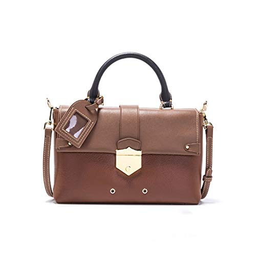 Fashion Bag Shopping 26 lunghezza Marrone Ethba Alta Larghezza Messenger Joker 10 Party Borse 18cm Ladies nx4nqI15w