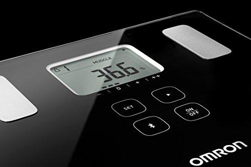 Pèse-personne intelligent Bluetooth OMRON VIVA, avec moniteur de composition: masse graisseuse, graisse viscérale, masse de muscles squelettiques, métabolisme au repos et IMC