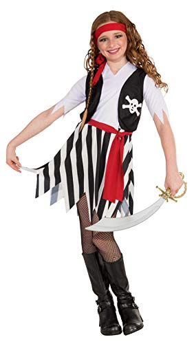Forum Novelties Little Lady Buccaneer Costume, Child Medium -