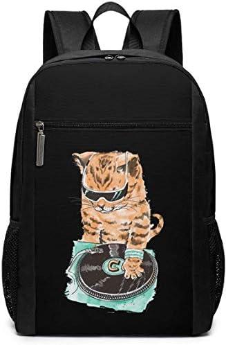 TTmom Mochilas Tipo Casual,Bolsa de Viaje DJ Cat Backpack Laptop Backpack School Bag Travel Backpack 17 Inch: Amazon.es: Equipaje