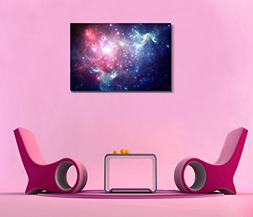 Colorful Space Nebula Beautiful Universe Outer Space Wall Decor ation