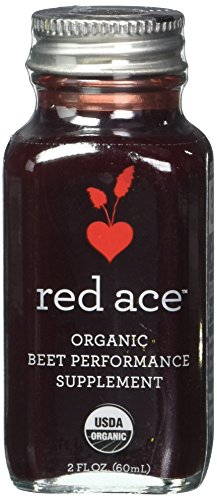 Red Ace Organic Beet Performance Supplement, 2 Oz , 12 Count