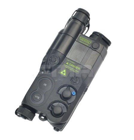 Tactique Airsoft AN / PEQ-16 Batterie Boîte Noir Mannequin AEG avec RIS Monture WorldShopping4U