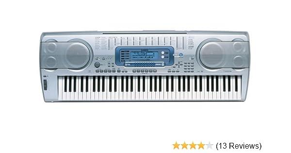 Amazon.com: Casio WK-3000 Professional Series 76 Key Digital Recording Studio Styled Keyboard: Musical Instruments