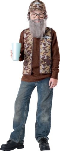 Halloween Costumes Size 20 (Duck Dynasty Uncle Si Child Costume, Size XX-Large/12-16)