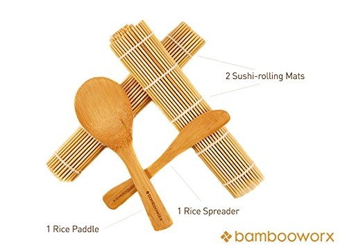 Тарелка BambooWorx- Sushi Making Kit