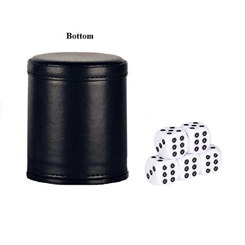 Dice-Cup-with-5-Dices-Bagent-PU-Leather-Felt-Lined-Professional-Dice-Shaker-Cup-Set-for-Yahtzee-Craps-Backgammon-or-other-Dice-Games