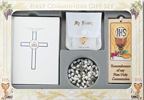 - Westman Works First Holy Communion Girls Complete Set with Missal and Rosary with Plush Bear