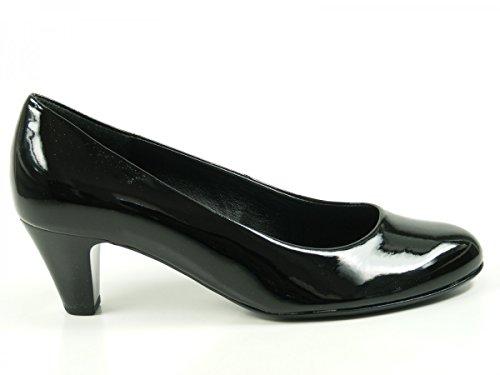 200 Con 75 nero Da Gabor Sandalo 35 Donna Tacco 5qAICwBxC