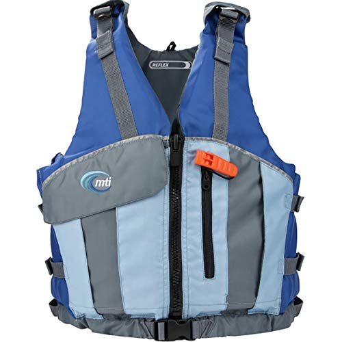 MTI Adventurewear Reflex PFD Life Jacket, X-Large/Xx-Large, Blue/Sky (Best Life Jacket For Canoeing)