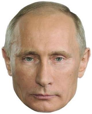 Vladimir Putin Celebrity Mask Flat Card Face Fancy Dress Mask Amazon Co Uk Toys Games