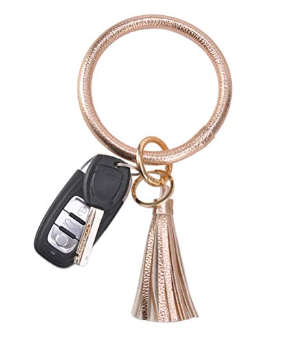 Ring Bracelets - Coolcos Wristlet Keychain Bracelet Bangle Keyring