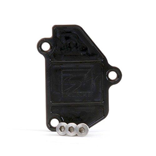 Skunk2 B-Series Vtec Black Anodized Block Off Plate By Jm Auto Racing (639-05-0605) Anodized Block Off Plate