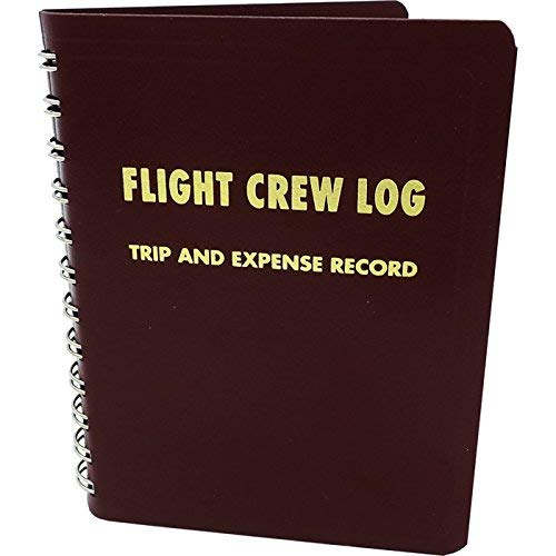 Flight Crew Log - Trip and Expense Record - Maroon