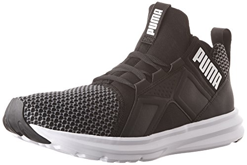 Cheap PUMA Men's ENZO Shift Cross-Trainer Shoe, Black-Quiet Sha, 9.5 M US