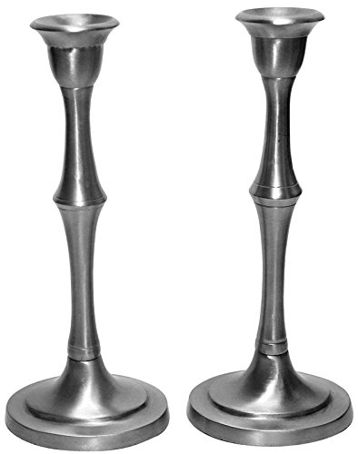 5th Avenue Collection Candlestick Pewter 7.5