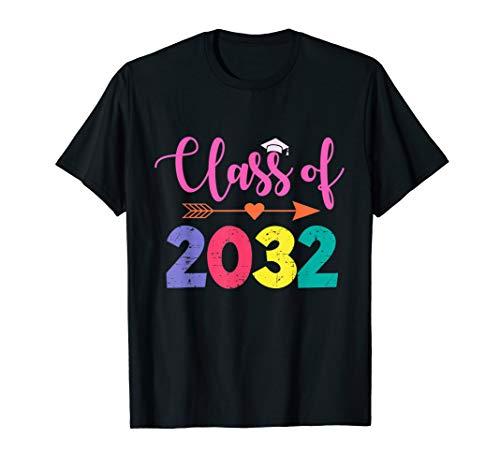 Kindergarten 2019 Tshirt Class Of 2032 Grow With Me T-Shirt T-Shirt (Dark T-shirt Class Womens)