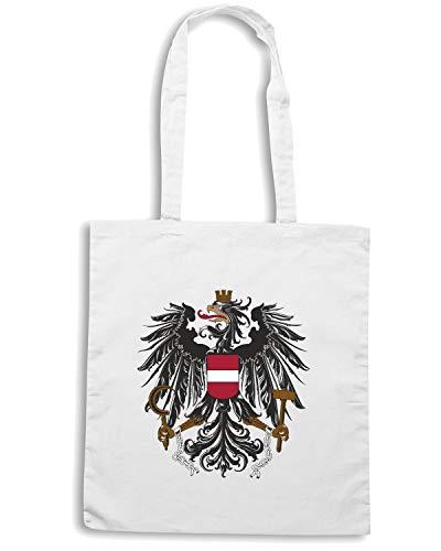 Speed Shirt Borsa Shopper Bianca TM0023 AUSTRIA CITTA