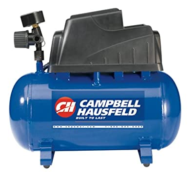 Campbell Hausfeld Air Compressor, 1-Gallon Pancake Oilless .36 CFM .33HP 120V 3A (FP2028) by Campbell Hausfeld